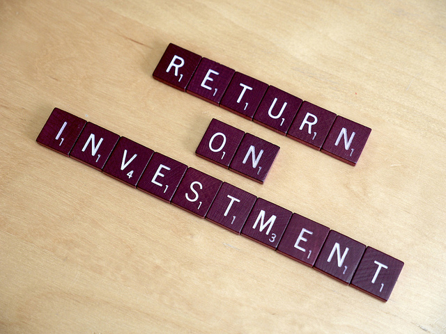 return on investment graphic