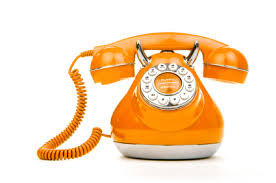 orange phone