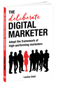 Deliberate Digital Marketer 3D cover