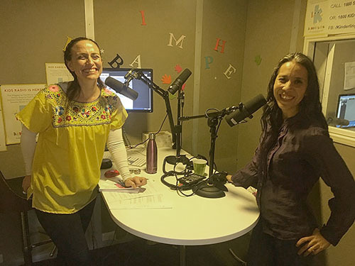 Suni Sanchez on Kinderling Radio
