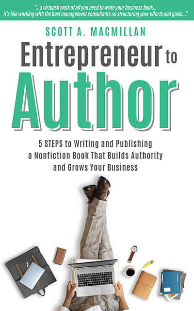 Entrepreneur to Author cover