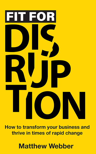 Fit for Disruption cover