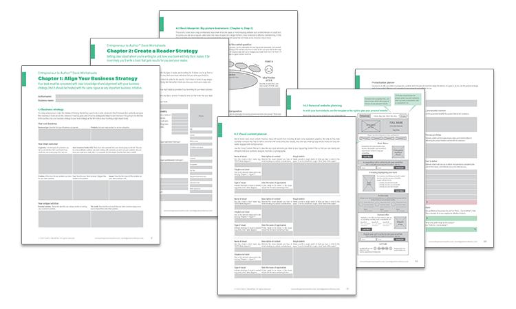 E2A Book Bonus worksheets
