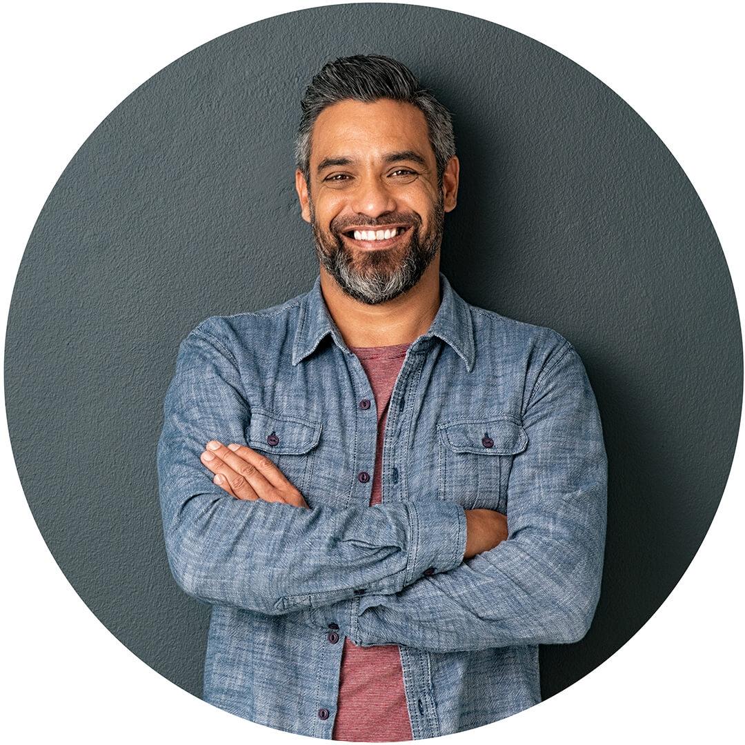 South-Asian entrepreneur